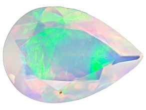Ethiopian Opal 10x7mm Pear Shape .90ct