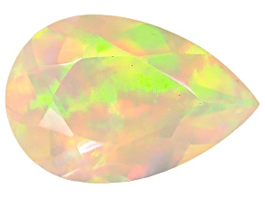 Ethiopian Opal 9x6mm Pear Shape .60ct