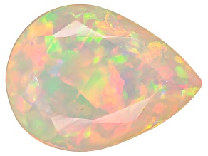 Ethiopian Opal 8x6mm Pear Shape .60ct