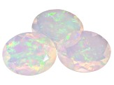 Ethiopian Opal 11x9mm Oval Set of 3 4.75ctw
