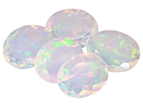 Ethiopian Opal 10x8mm Oval Set of 5 5.50ctw