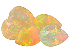 Ethiopian Opal 7x5mm Pear Shape 2.20ctw