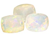 Ethiopian Opal Cushion Set of 3 6.05ctw