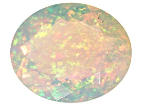 Ethiopian Opal 12x10mm Oval 3.33ct