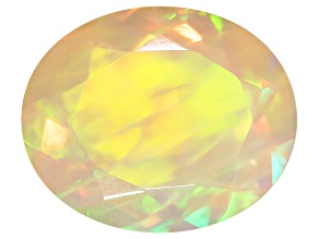 Ethiopian Opal 12x10mm Oval 2.34ct