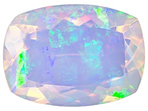 Ethiopian Opal 14x10mm Cushion 3.50ct
