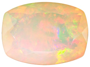 Ethiopian Opal 14x10mm Cushion 3.45ct