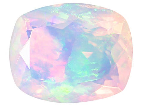 Ethiopian Opal 11x9mm Cushion 2.45ct