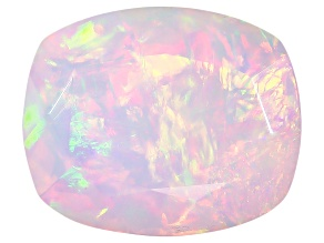 Ethiopian Opal 11x9mm Cushion 2.20ct