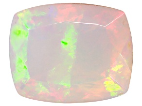 Ethiopian Opal 11x9mm Cushion 2.10ct