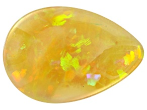 Ethiopian Opal 16.8x11.6mm Pear Shape Cabochon 5.40ct