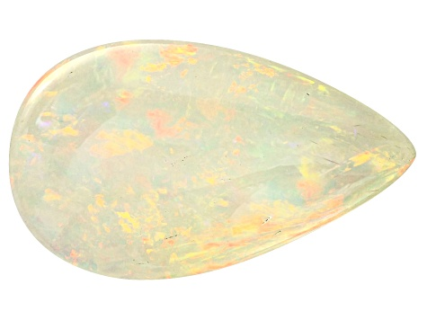 Ethiopian Opal 19.2x11.4mm Pear Shape 5.57ct