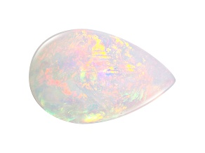 Ethiopian Opal 25x16mm Pear Shape Cabochon 14.34ct