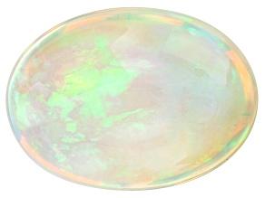 Ethiopian Opal 16.6x12.3mm Oval Cabochon 8.32ct