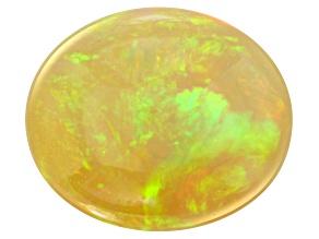 3.32ct Ethiopian Opal 12x10mm Oval