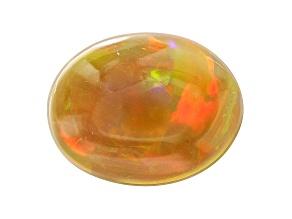 Tazma Ethiopian Opal™ 9x7mm Oval Cabochon 1.00ct