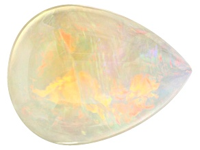 Ethiopian Opal 25.34x19.06mm Pear Shape  17.84ct