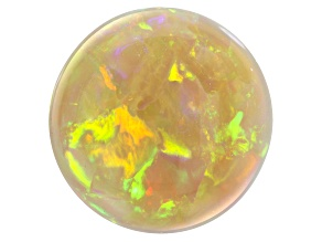 Ethiopian Opal 18.88mm Round cabochon 14.04ct
