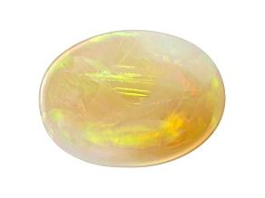 Opal Ethiopian 16x12mm oval cabochon 4.57ct