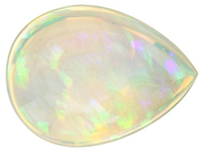 Ethiopian Opal 13.8x10.3mm Pear Shape Cabochon 4.06ct