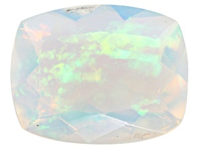 Ethiopian Opal 10x8mm Rectangular Cushion 1.25ct