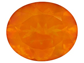 Fire Opal 12x10mm Oval 3.25ct