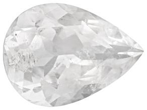 Pollucite 17x12.5mm Pear Shape 9.68ct