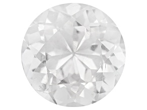 Pollucite 9.5mm Round 3.40ct