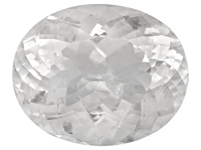 Pollucite 16.5x13.5mm Oval 12.92ct