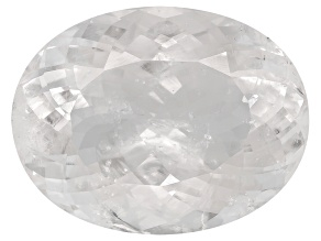 Pollucite 23x17.5mm Oval 30.12ct