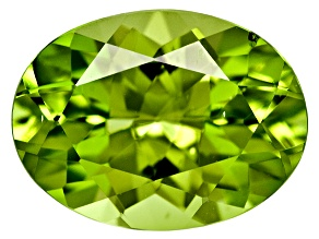 Peridot 8x6mm Oval 1.00ct