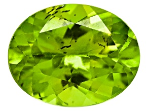 Peridot 9x7mm Oval 1.50ct