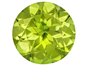 Peridot 6.5mm Round .95ct
