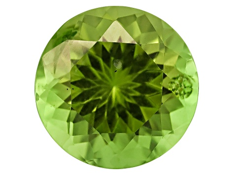 Peridot 7mm Round 1.10ct