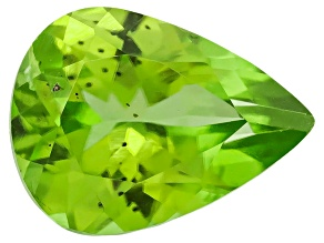 Peridot 8x6mm Pear Shape .90ct