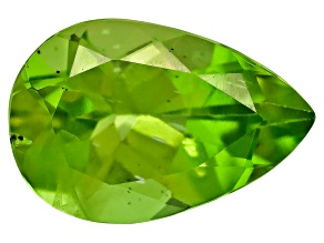 Peridot 9x6mm Pear Shape 1.00ct