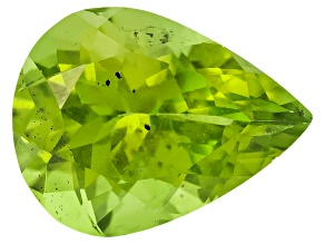 Peridot 9x7mm Pear Shape 1.40ct