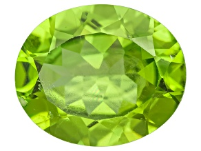 Peridot 10.5x8.5mm Oval 3.00ct