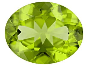 Manchurian Peridot 11.5x9.1mm Oval 3.27ct