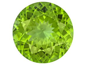Peridot 12mm Round 5.97ct