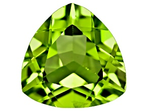 Peridot 10mm Trillion 3.50ct