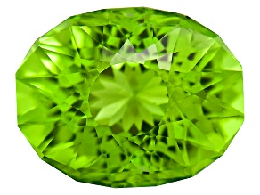 Peridot 10x8mm Oval SunGlitz Cut 3.00ct