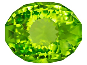 Minimum 2.75ct mm Varies Oval Sunglitz Cut™ Chinese Peridot