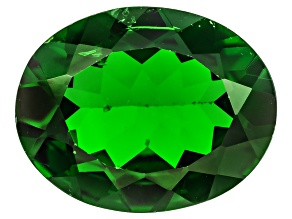 Pre-Owned Chrome Diopside 10x8mm Oval 2.00ct