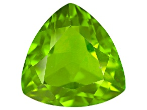 Pre-Owned Peridot 11mm Trillion 4.50ct