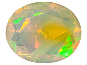 Pre-Owned Ethiopian Opal 11x9mm Oval 2.00ct