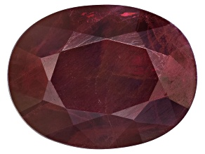 Pre-Owned Ruby 8x6mm Oval Mixed Step Cut 1.00ct