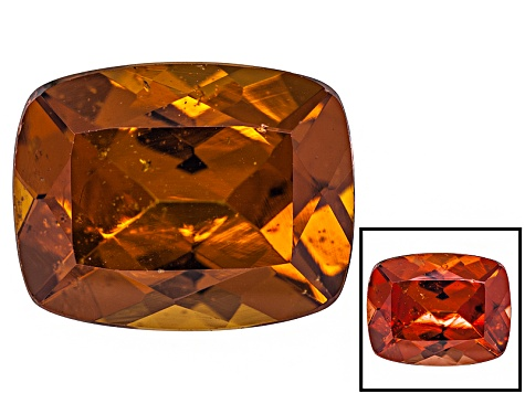 Pre-Owned Honey Red Garnet Color Shift 9x7mm Rectangular Cushion 2.50ct