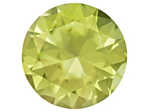 Pallasitic Peridot 3.10mm Round 0.12ct