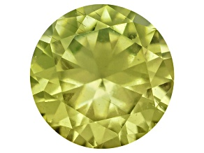 Pallasitic Peridot Minimum .13ct 3.2mm Round